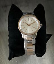 NWT Armani Exchange Women's AX4363 Analog Display Analog Quartz Rose Gold Watch