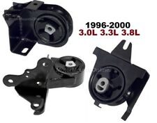 8R1141E 3pc Motor Mounts fit 1996 - 2000 V6 VAN Plymouth Voyager Grand Voyager