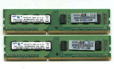 4GB (2 x 2GB) Samsung M378B5673FH0-CH9 DDR3 1333 desktop DIMMs PC3-10600U 2Rx8