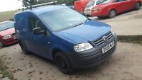 2009 VW Volkwagen Caddy C20 Plus 2.0 SDI 150K EX Gas Van £2000 Service/Receipts