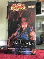 "New! Street Fighter Akuma ""I Am Power"" Collector's Edition Resin Statue by SOTA"