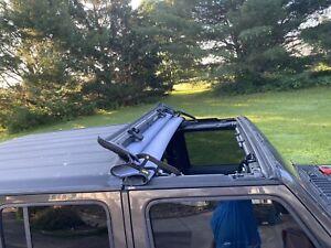 Bestop 5245435 Sunrider Hard Top Black Diamond For 18-21 Jeep Wrangler JL JLU