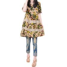 Unbranded Boho Linen Dresses for Women