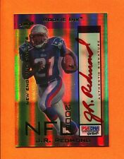 2000 Collector's Edge Odyssey Rookie Ink Red J.R. Redmond Autograph Patriots /10