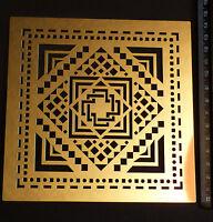 Erica/Fortgens/stencil/Geometrisch/Geometric/emboss/EF8001