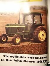John Deere 4030 Tractor Green magazine – tractor cabs