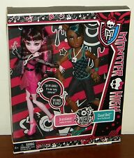 Monster High Music Festival Clawd Wolf & DracuLaura Set NRFB #BBR83