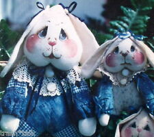 """Momma Made Me do it bunny pattern HP 12/"""" Pierre Lapin"""