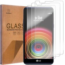 3 PACK Premium Tempered Glass Screen Protector For LG XPower
