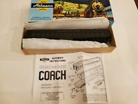 Vintage Athearn Model Train in Box - HO 1856 STD Coach Cleretor ATSF