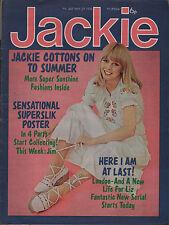 Jackie Magazine 29 May 1976 No.647 Jim McGinlay of Slik  Roxy Music The Rubettes