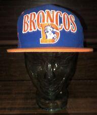 Mitchell And Ness Blue/Orange Snapback DENVER BRONCOS Hat