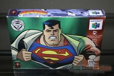 Superman (Nintendo 64, N64 1999) FACTORY SEALED! - ULTRA RARE!