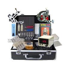 New Complete Tattoo Supply dragon Machine mini lcd power tattoos Equipment Kits