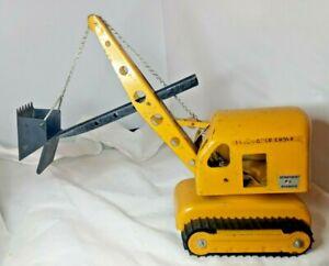 Buddy L Lil Beaver Department of Highways 1410 Power Shovel - Pressed Steel Vtg