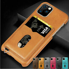 Slim Leather Wallet Card Holder Shockproof Case Cover For iPhone 11 Pro Max XS 8