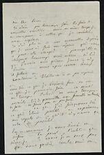 Alphonse KARR autographe #6