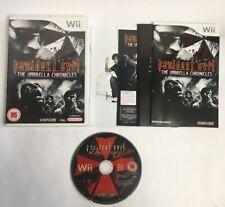 Resident Evil The Umbrella Chronicles Nintendo Wii