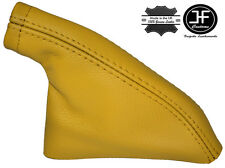 YELLOW REAL LEATHER HANDBRAKE GAITER FITS S14 200SX SILVIA COUPE 1993-1999