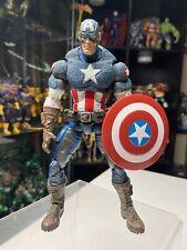 "Marvel Legends Toybiz Series 8 VIII Ultimate Captain America 6"" Loose FIGURE"