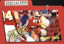 1997 Ultra Specialists Ultra San Francisco 49ers Football Card #10 Jerry Rice