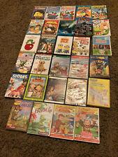 29 Dvd Lot - Children, Kid, VeggieTales, Polar Express, Beauty and the Beast