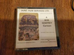 Vintage SUPER RARE BOB GODFREY  Super 8mm Film