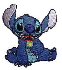 "Disney Lilo & Stitch Movie Stitch Character Sitting Embroidered Patch 3"" Tall"