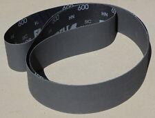 "P40 120 Grit - 80 2ea 6 Pc 2/"" x 48/""  Sanding Belt Orange Ceramic Variety"