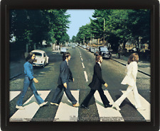 The Beatles Framed 3D Picture Abbey Road Official Merchandise