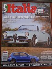 Auto Italia 253 Mar 2017 Alfa Romeo Giulia, 147 GTA, Ferrari 330 GTC