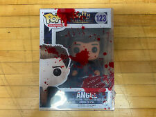 Funko Pop! Television - Buffy the Vampire Slayer Angel #123 w Custom Bloody Case