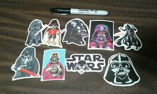 Star Wars Darth Vader Stickers - 9 Stickers - Skateboard Phone Tablet - Funny