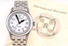 Armand Nicolet Uhr Automatik Automatic Edelstahl Herrenuhr Armbanduhr A9090 NEU