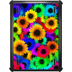 OtterBox Defender for iPad Pro / Air / Mini -  Red Green Yellow Sunflowers