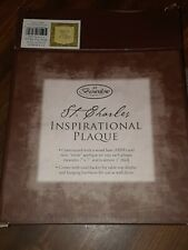 Brownlow Gifts, St.Charles Inspirational Plaque