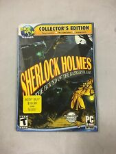Big fish games sherlock holmes ( the hound of the baskervilles) pc cd rom NEW