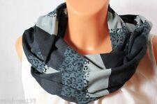 Écharpes et châles noirs en polyester pour fille de 2 à 16 ans