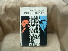 OUR COUNTRY'S PRESIDENTS BOOK BY FRANK FREIDEL NATIONAL GEOGRAPHIC SOCIETY 1970