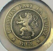 5-10 Centimes Cents 1861-1863 Belgique Belgïe Belgium