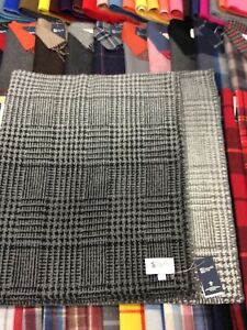 100% Cashmere Throw Blanket | Johnstons of Elgin | Graphite | Made in Scotland