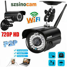Wireless 720P HD WIFI IP Network Camera CCTV WLAN Outdoor Home Security IR Night