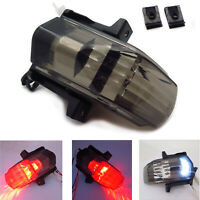 Smoked LED Tail Light with Turn Signals Fit For Aprilia RSVR Factory RSV1000