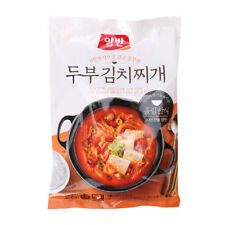 Korean Spicy KIMCHI STEW W/Tofu for rice 2servings 5min ready Microwave or boil