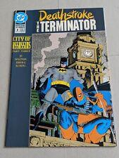 Deathstroke The Terminator #8 March 1992 DC Comics