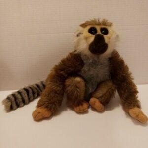 "Rain Forest Rudy Lemur Plush Toy ""Landon"" 11"" H x 8"" W"