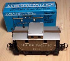 MäRKLIN  4576 HO n°1576 Vagoni merci USA Union Pacific pari a nuovo nella origin