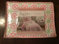 New Nicole Miller Home Kids Full Sheet Set 4 Pieces Pillowcases
