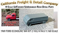 1969 Ford Econoline Van Kit N/1:160 California Freight & Details Co *NEW*
