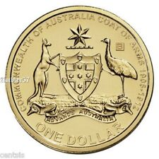 2008 UNC 50c Coat of Arms Coin from Ex-Mint Set